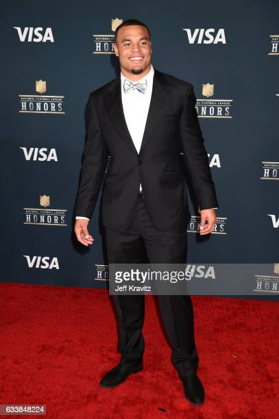 NFL player Dak Prescott attends 6th Annual NFL Honors at Wortham Theater Center on February 4 2017 in Houston Texas