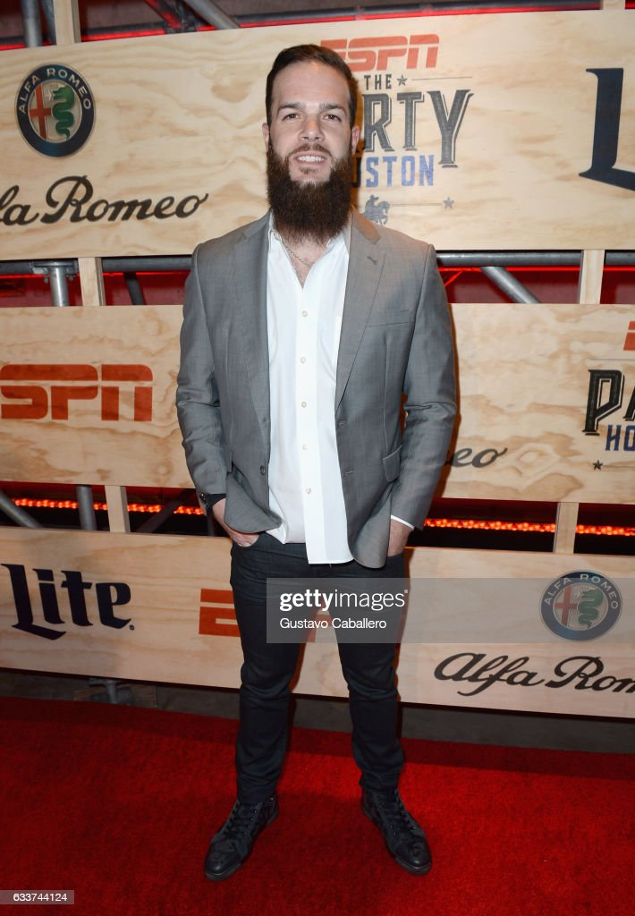 MLB player Dallas Keuchel attends the 13th Annual ESPN The Party on February 3, 2017 in Houston, Texas.