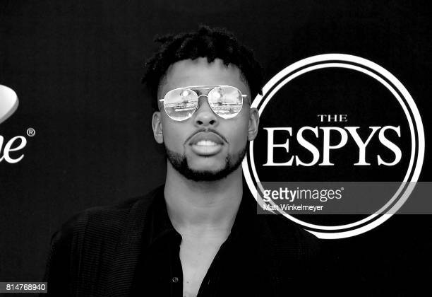 NBA player D'Angelo Russell attends the 2017 ESPYS at Microsoft Theater on July 12 2017 in Los Angeles California