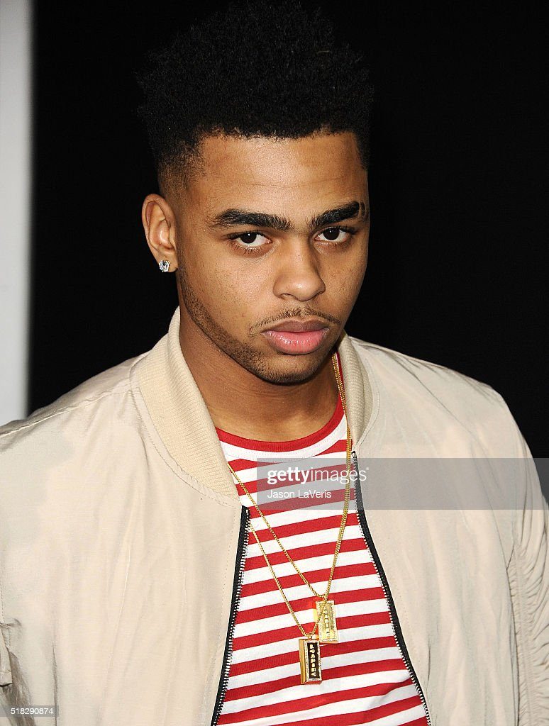 Player D'Angelo Russell attends the premiere of 'Creed' at Regency Village Theatre on November 19, 2015 in Westwood, California.