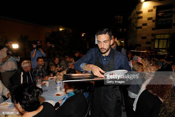 Player Danilo Cataldi of SS Lazio during a Charity Event on September 28 2016 in Rome Italy