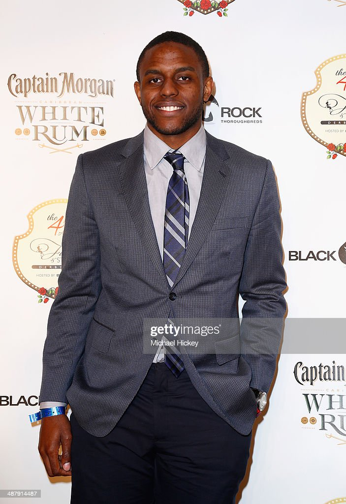 NBA player <a gi-track='captionPersonalityLinkClicked' href=/galleries/search?phrase=Darius+Miller&family=editorial&specificpeople=5590631 ng-click='$event.stopPropagation()'>Darius Miller</a> attends the Fourth Annual Fillies & Stallions party sponsored by Captain Morgan White Rum at Mellwood Arts Center on May 2, 2014 in Louisville, Kentucky.