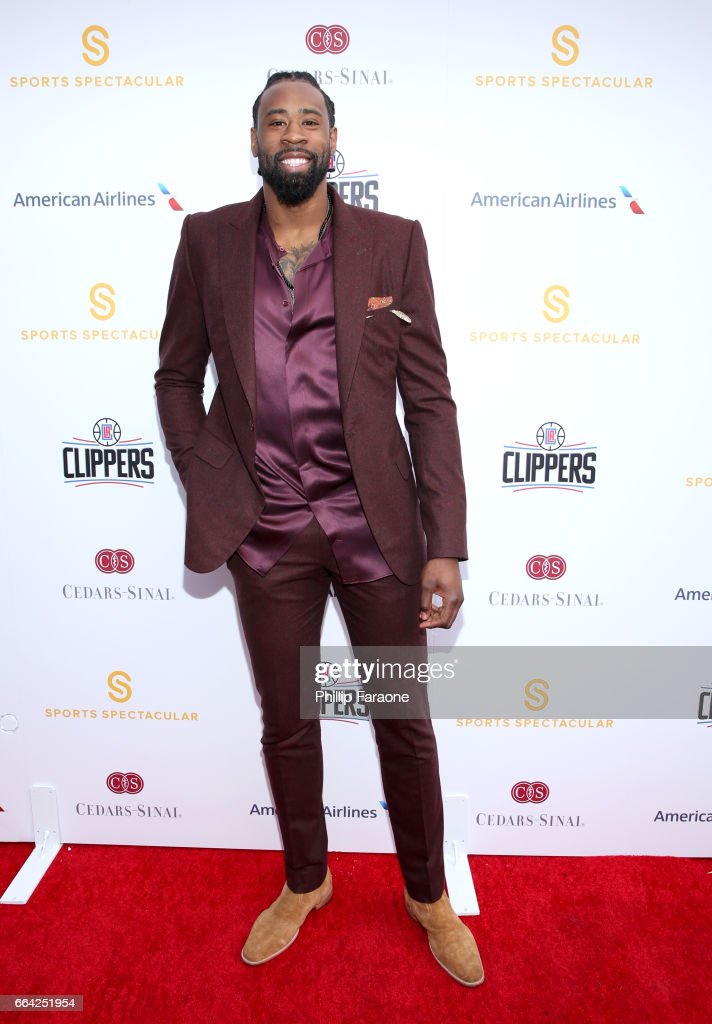 NBA player DeAndre Jordan attends 32nd Annual Cedars-Sinai Sports Spectacular at W Los Angeles - Westwood on April 3, 2017 in Los Angeles, California.