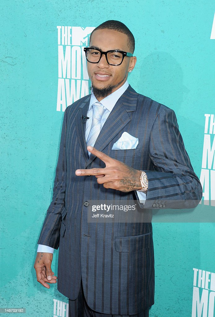 Player Desean Jackson arrives at the 2012 MTV Movie Awards held at Gibson Amphitheatre on June 3, 2012 in Universal City, California.