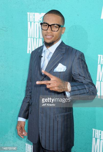 Player Desean Jackson arrives at the 2012 MTV Movie Awards held at Gibson Amphitheatre on June 3 2012 in Universal City California