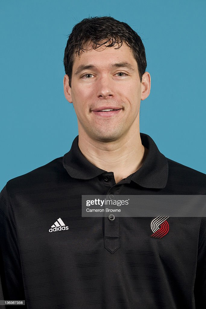 Player Development coach Dan Dickau of the Portland Trail Blazers poses for a portrait during Media Day on December 16, 2011 at the Rose Garden Arena in Portland, Oregon.