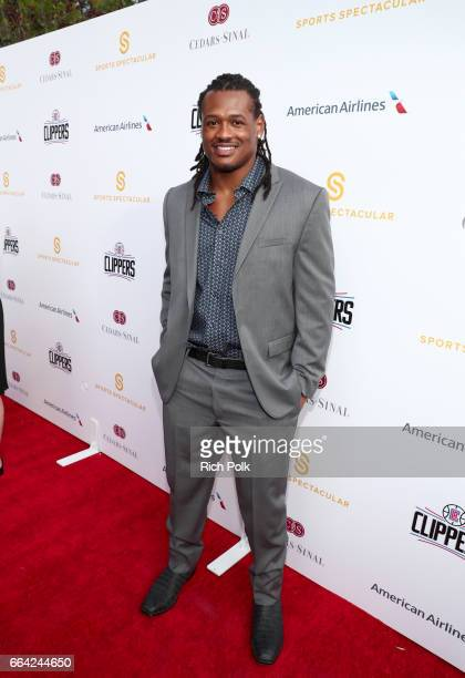 NFL player Dont'a Hightower attends 32nd Annual CedarsSinai Sports Spectacular at W Los Angeles Westwood on April 3 2017 in Los Angeles California