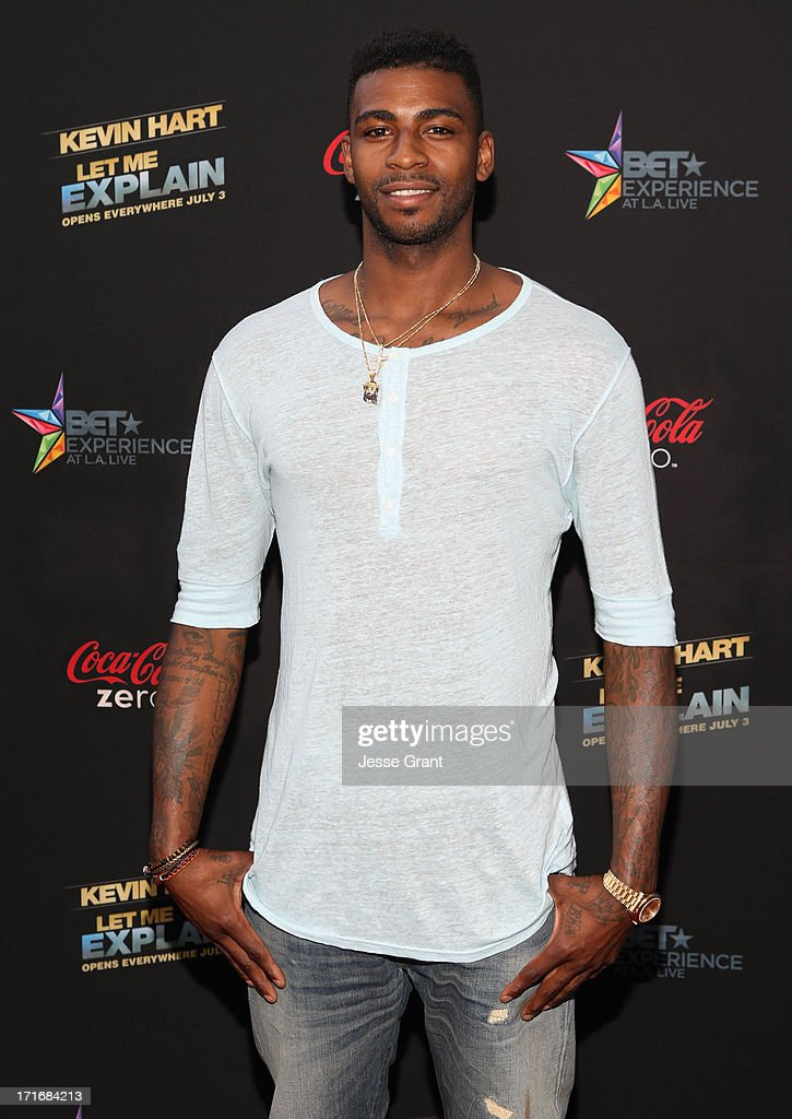 NBA player Dorell Wright attends Movie Premiere 'Let Me Explain' with Kevin Hart during the 2013 BET Experience at Regal Cinemas L.A. Live on June 27, 2013 in Los Angeles, California.