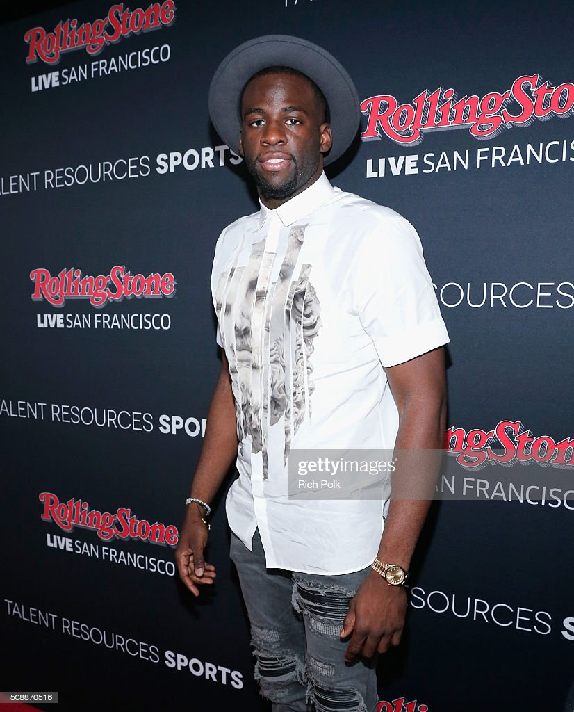 NBA player <a gi-track='captionPersonalityLinkClicked' href=/galleries/search?phrase=Draymond+Green&family=editorial&specificpeople=5628054 ng-click='$event.stopPropagation()'>Draymond Green</a> attends Rolling Stone Live SF with Talent Resources on February 7, 2016 in San Francisco, California.
