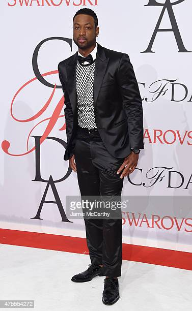 NBA player Dwyane Wade attends the 2015 CFDA Fashion Awards at Alice Tully Hall at Lincoln Center on June 1 2015 in New York City