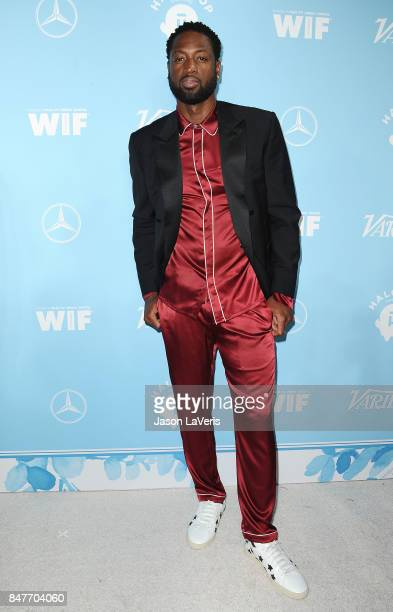 NBA player Dwyane Wade attends Variety and Women In Film's 2017 preEmmy celebration at Gracias Madre on September 15 2017 in West Hollywood California