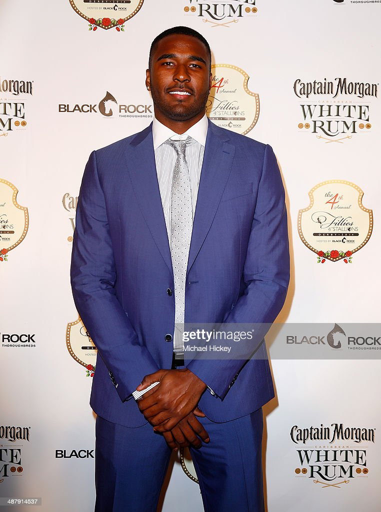 NFL player E. J. Manuel attends the Fourth Annual Fillies & Stallions party sponsored by Captain Morgan White Rum at Mellwood Arts Center on May 2, 2014 in Louisville, Kentucky.
