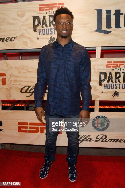 NFL player Eli Apple attends the 13th Annual ESPN The Party on February 3 2017 in Houston Texas
