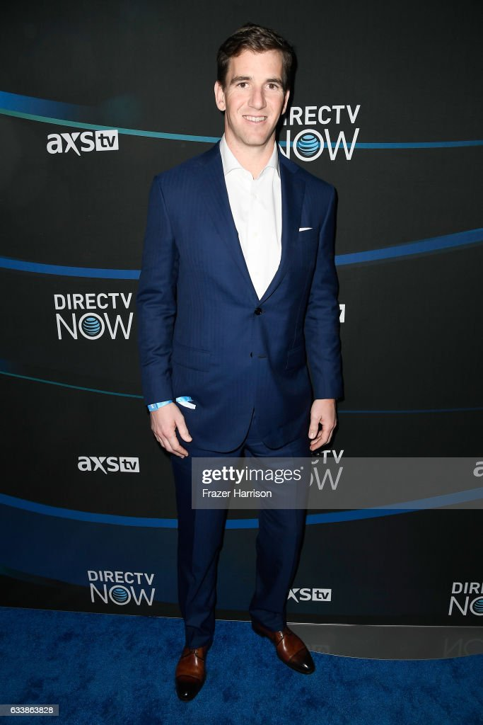 NFL player Eli Manning attends the 2017 DIRECTV NOW Super Saturday Night Concert at Club Nomadic on February 4, 2017 in Houston, Texas.