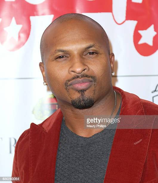 Player Eric King arrives at eZWayCares Community Santa Toy Drive on December 18 2016 in Los Angeles California