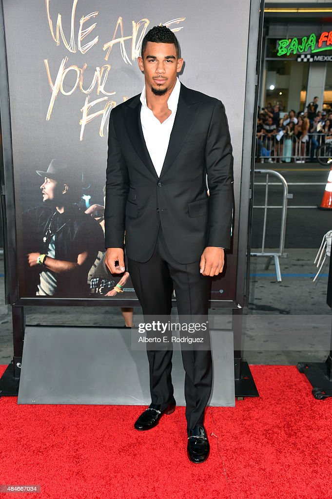 NHL player Evander Kane attends the premiere of Warner Bros. Pictures' 'We Are Your Friends' at TCL Chinese Theatre on August 20, 2015 in Hollywood, California.