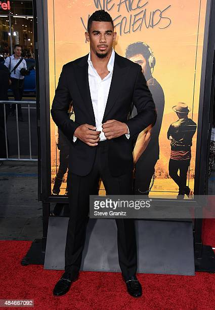 NHL player Evander Kane attends the premiere of Warner Bros Pictures' 'We Are Your Friends' at TCL Chinese Theatre on August 20 2015 in Hollywood...