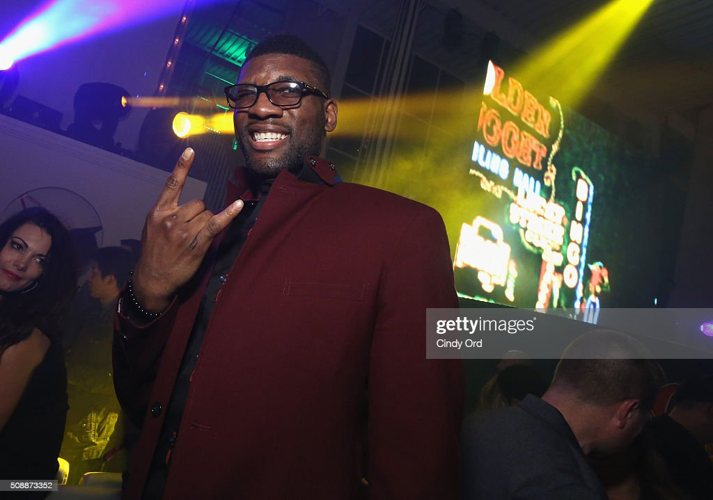 NBA player <a gi-track='captionPersonalityLinkClicked' href=/galleries/search?phrase=Festus+Ezeli&family=editorial&specificpeople=5725219 ng-click='$event.stopPropagation()'>Festus Ezeli</a> attends Rolling Stone Live SF with Talent Resources on February 7, 2016 in San Francisco, California.