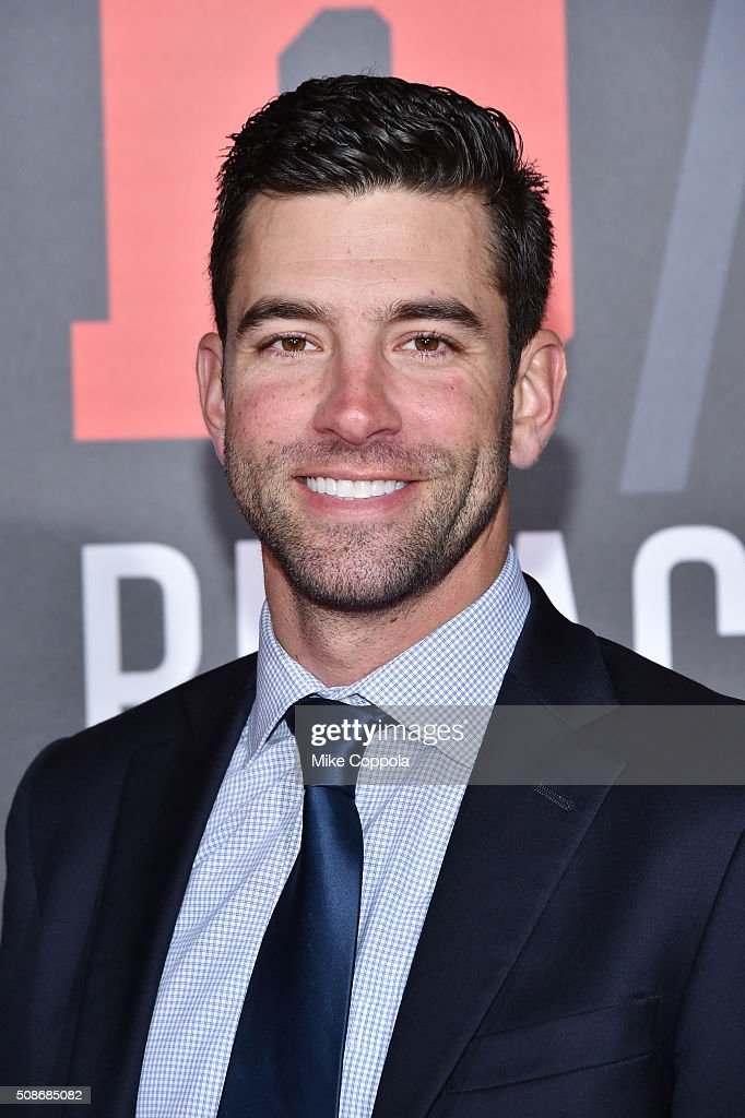 MLB player George Kontos attends Bleacher Report's 'Bleacher Ball' presented by go90 at The Mezzanine prior to Sunday's big game on February 5, 2016 in San Francisco, California.