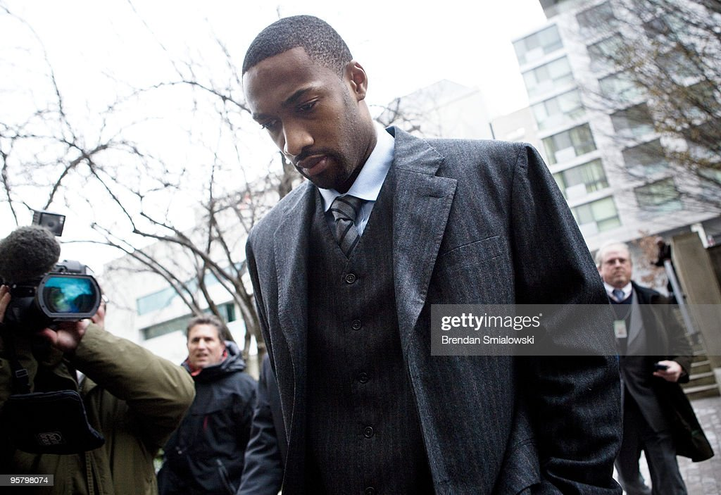 Gilbert Arenas Goes To Court For Gun Felony Charge