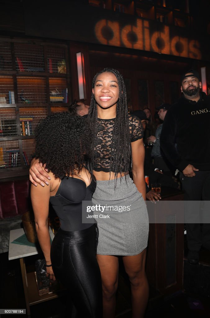 WNBA player Imani Trishawn Boyette attends Adidas Closing Party presented by Remy Martin on February 18, 2018 in Los Angeles, California.