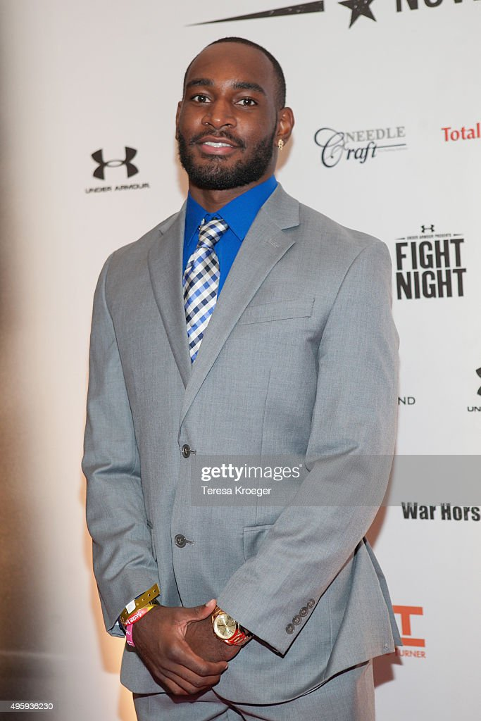 NFL player <a gi-track='captionPersonalityLinkClicked' href=/galleries/search?phrase=Jamison+Crowder&family=editorial&specificpeople=8230117 ng-click='$event.stopPropagation()'>Jamison Crowder</a> attends Fight For Children's 26th Annual Fight Night at the Washington Hilton on November 5, 2015 in Washington, DC.