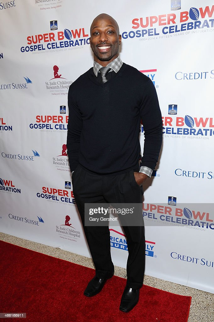 NFL Player <a gi-track='captionPersonalityLinkClicked' href=/galleries/search?phrase=Jason+Avant&family=editorial&specificpeople=616486 ng-click='$event.stopPropagation()'>Jason Avant</a> attends the Super Bowl Gospel Celebration 2014 on January 31, 2014 in New York City.