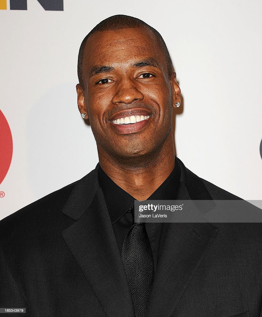 NBA player Jason Collins attends the 9th annual GLSEN Respect Awards at Beverly Hills Hotel on October 18, 2013 in Beverly Hills, California.