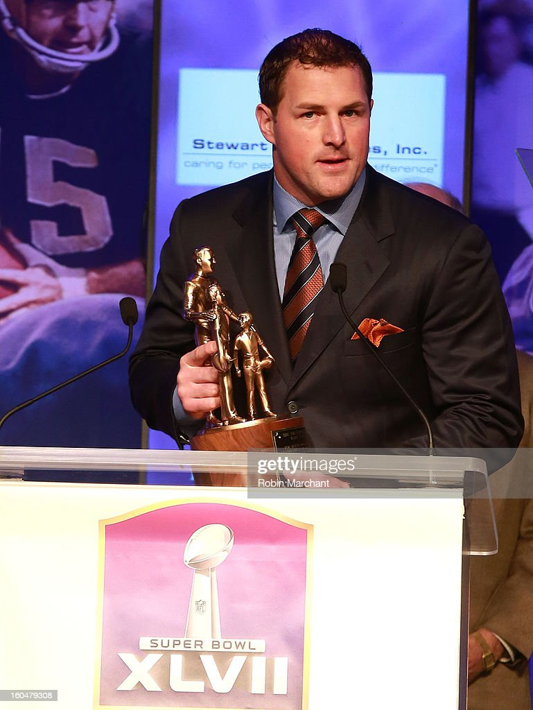Player <a gi-track='captionPersonalityLinkClicked' href=/galleries/search?phrase=Jason+Witten&family=editorial&specificpeople=212871 ng-click='$event.stopPropagation()'>Jason Witten</a> attends the 2013 Super Bowl Breakfast at the Hyatt Regency New Orleans on February 1, 2013 in New Orleans, Louisiana.