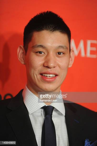 NBA player Jeremy Lin attends the TIME 100 Gala celebrating TIME'S 100 Most Influential People In The World at Jazz at Lincoln Center on April 24...