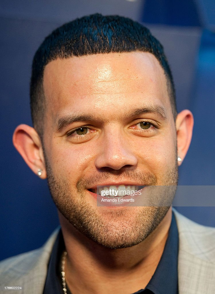 NBA player <a gi-track='captionPersonalityLinkClicked' href=/galleries/search?phrase=Jordan+Farmar&family=editorial&specificpeople=228137 ng-click='$event.stopPropagation()'>Jordan Farmar</a> arrives at the Delta Air Lines Summer Celebration at Beverly Grove Drive on August 15, 2013 in Beverly Hills, California.