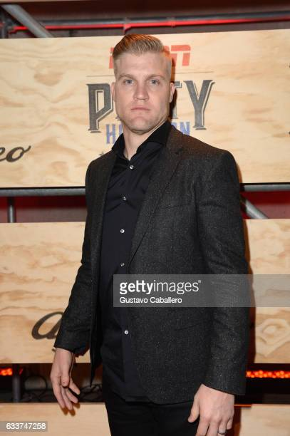 NFL player Josh McCown attends the 13th Annual ESPN The Party on February 3 2017 in Houston Texas