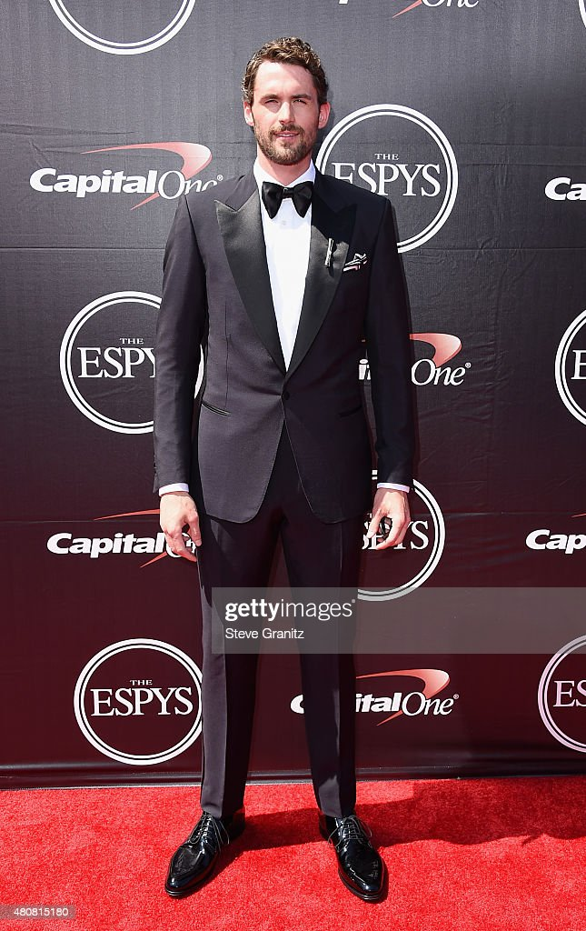 NBA player <a gi-track='captionPersonalityLinkClicked' href=/galleries/search?phrase=Kevin+Love&family=editorial&specificpeople=4212726 ng-click='$event.stopPropagation()'>Kevin Love</a> attends The 2015 ESPYS at Microsoft Theater on July 15, 2015 in Los Angeles, California.