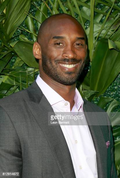 NBA player Kobe Bryant attends The Players' Tribune Hosts Players' Night Out 2017 at The Beverly Hills Hotel on July 11 2017 in Beverly Hills...