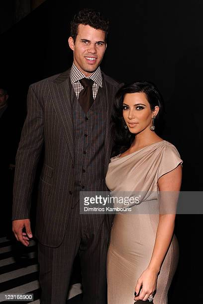NBA player Kris Humphries and TV personality Kim Kardashian attend A Night of Style Glamour to welcome newlyweds Kim Kardashian and Kris Humphries at...