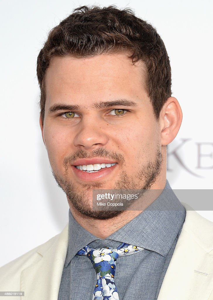 NBA player Kris Humphries attends 140th Kentucky Derby at Churchill Downs on May 3, 2014 in Louisville, Kentucky.