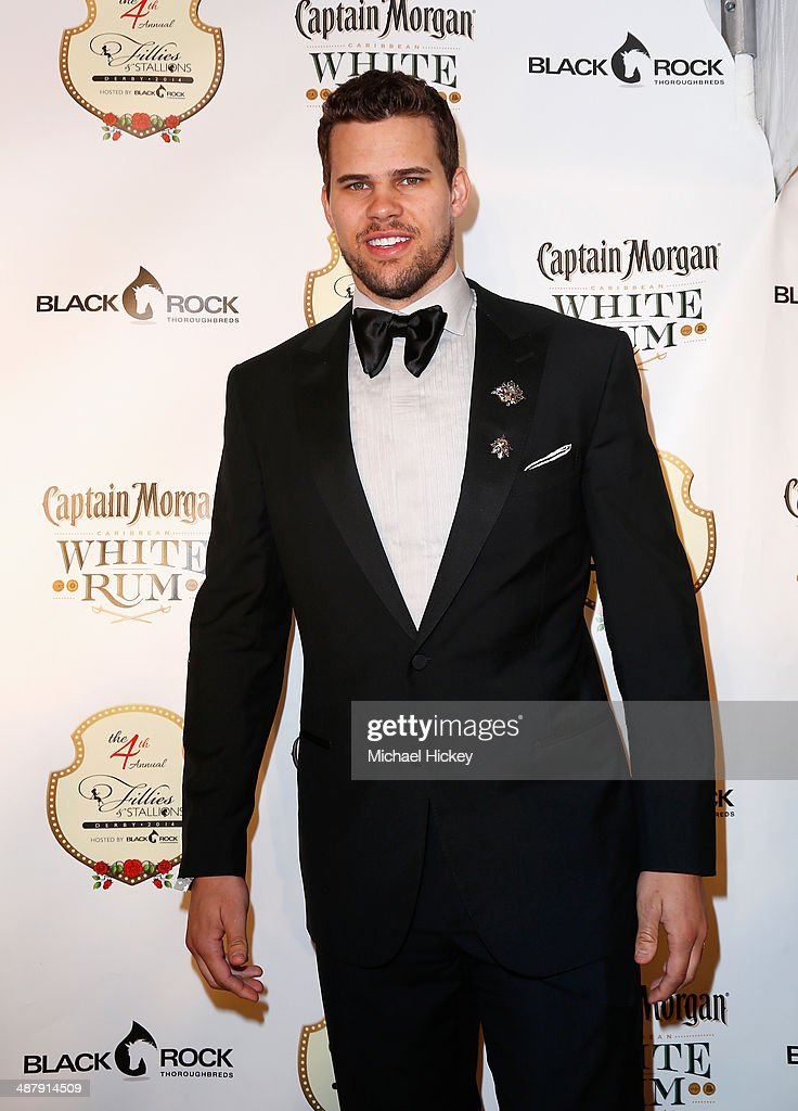 NBA player Kris Humphries attends the Fourth Annual Fillies & Stallions party sponsored by Captain Morgan White Rum at Mellwood Arts Center on May 2, 2014 in Louisville, Kentucky.