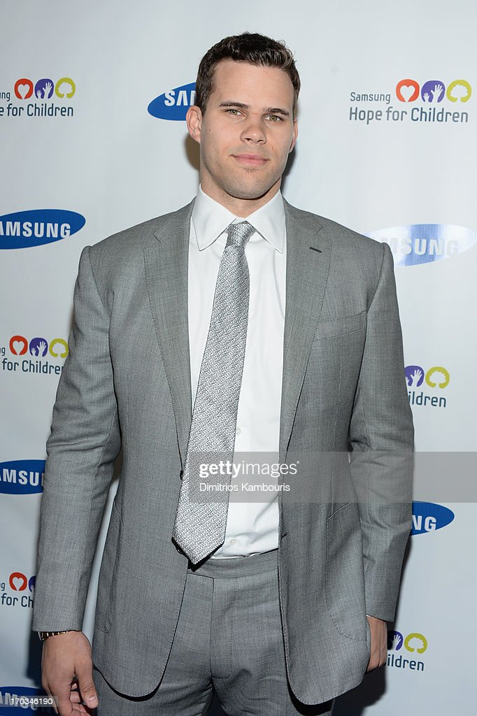 NBA player Kris Humphries attends the Samsung's Annual Hope for Children Gala at Cipriani's in Wall Street on June 11, 2013 in New York City.