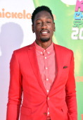 NBA player Larry Sanders attends Nickelodeon Kids' Choice Sports Awards 2014 at UCLA's Pauley Pavilion on July 17 2014 in Los Angeles California