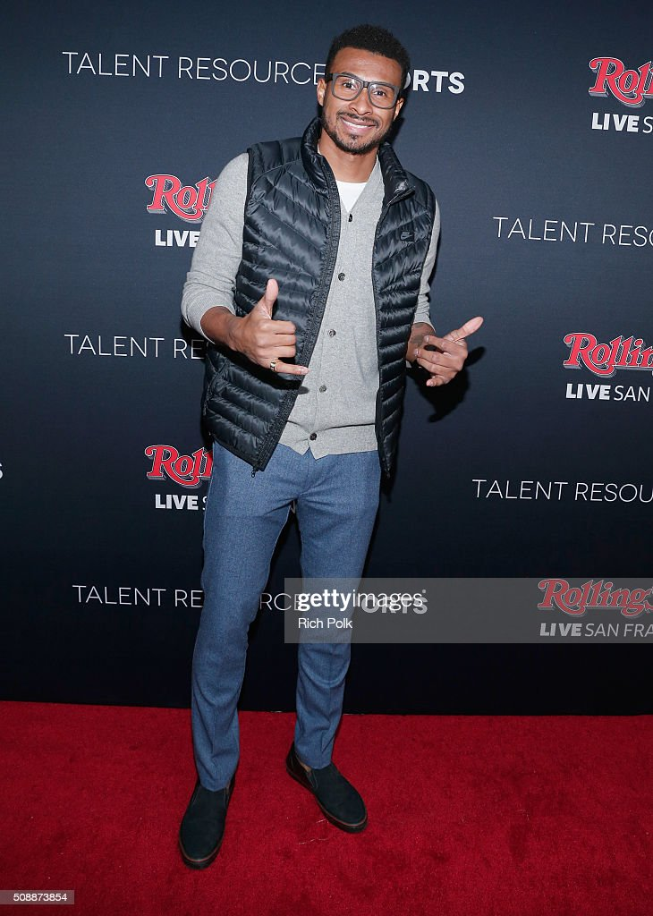 NBA player Leandro Barbosa attends Rolling Stone Live SF with Talent Resources on February 7, 2016 in San Francisco, California.