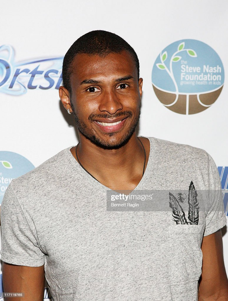 NBA player <a gi-track='captionPersonalityLinkClicked' href=/galleries/search?phrase=Leandro+Barbosa&family=editorial&specificpeople=201506 ng-click='$event.stopPropagation()'>Leandro Barbosa</a> attends the after party for the 2011 Showdown in Chinatown soccer match at the Bar Basque on June 22, 2011 in New York City.