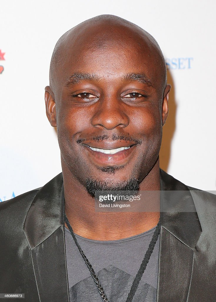 NFL player Leon Washington attends the BCS National Championship Party hosted by the Tournament of Roses and the Los Angeles Sports Entertainment...