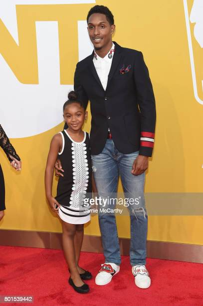 NBA player Lou Williams attends the 2017 NBA Awards live on TNT on June 26 2017 in New York New York 27111_003