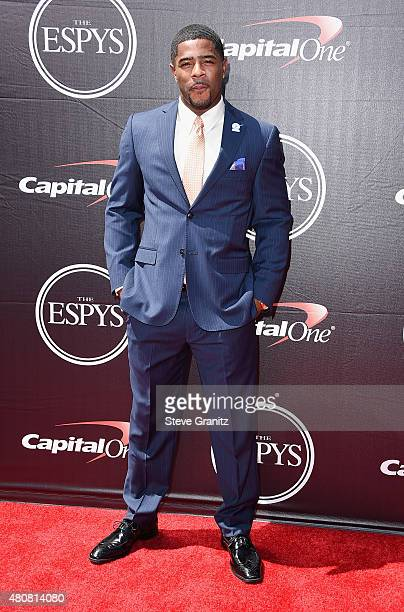 NFL player Malcolm Butler attends The 2015 ESPYS at Microsoft Theater on July 15 2015 in Los Angeles California