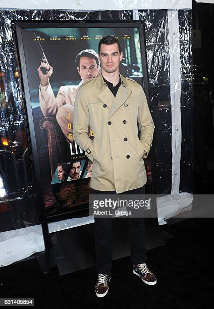 NBA player Mario Hezonja arrives for the Premiere Of Warner Bros Pictures' 'Live By Night' at TCL Chinese Theatre on January 9 2017 in Hollywood...