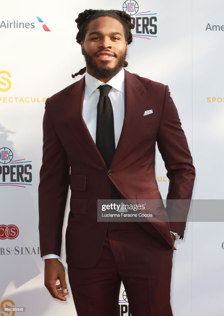 NFL player Mark Barron attends the 32nd Annual Cedars-Sinai Sports Spectacular Gala at W Los Angeles Westwood on April 3, 2017 in Los Angeles, California.