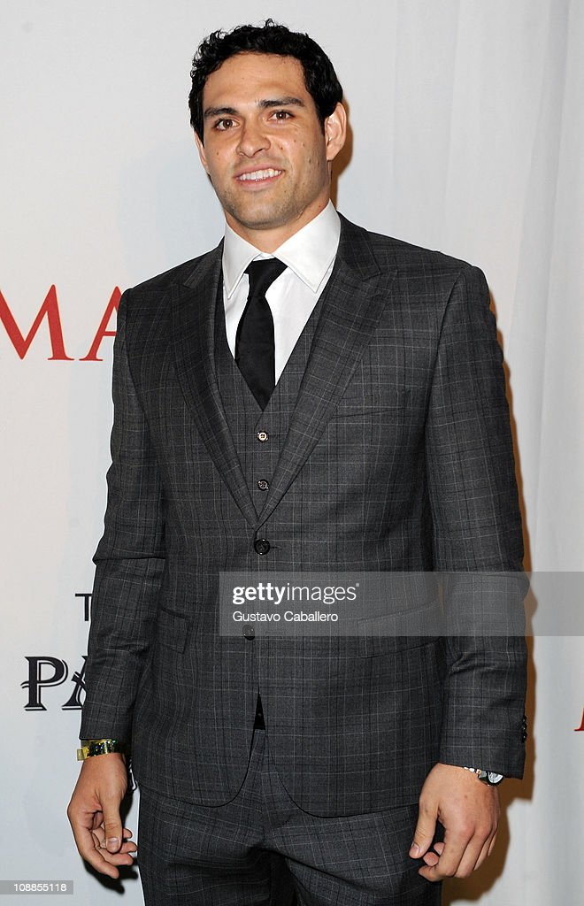 NFL player <a gi-track='captionPersonalityLinkClicked' href=/galleries/search?phrase=Mark+Sanchez&family=editorial&specificpeople=690406 ng-click='$event.stopPropagation()'>Mark Sanchez</a> of the New York Jets attends the Maxim Party Powered by Motorola Xoom at Centennial Hall at Fair Park on February 5, 2011 in Dallas, Texas.