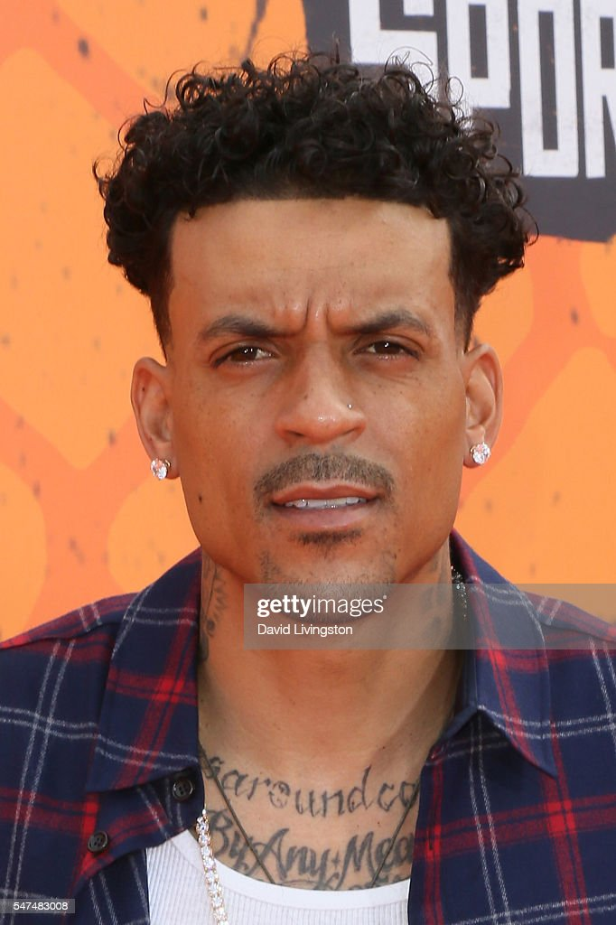 NBA player Matt Barnes arrives at the Nickelodeon Kids' Choice Sports Awards 2016 at the UCLA's Pauley Pavilion on July 14 2016 in Westwood California