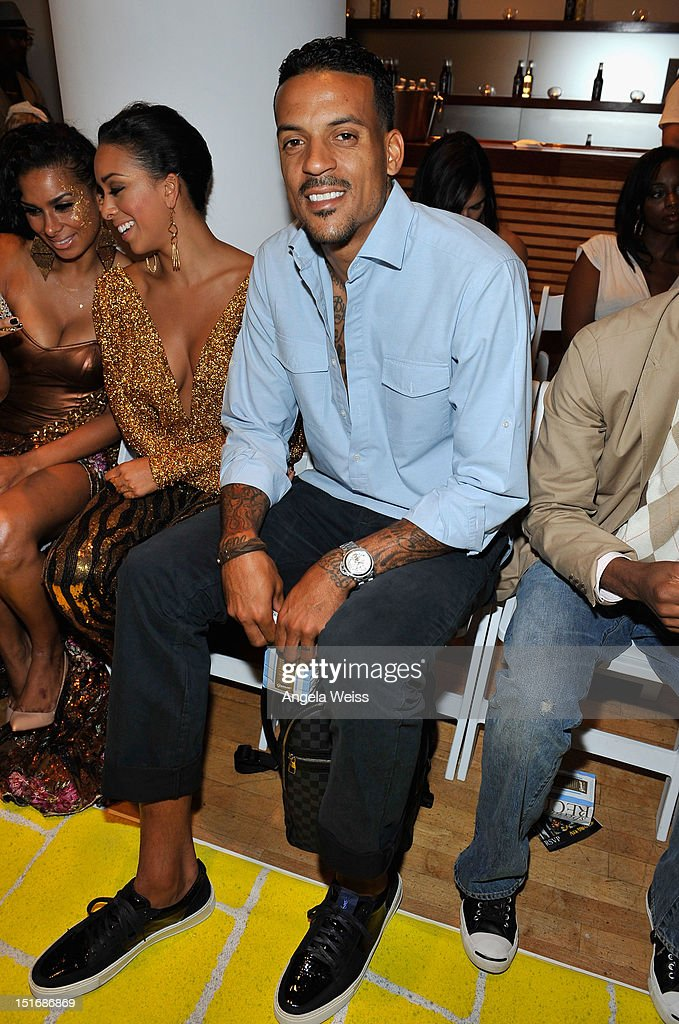 NBA player <a gi-track='captionPersonalityLinkClicked' href=/galleries/search?phrase=Matt+Barnes+-+Basketball+Player&family=editorial&specificpeople=202880 ng-click='$event.stopPropagation()'>Matt Barnes</a> attends the Anna Francesca Spring 2013 fashion show during Mercedes-Benz Fashion Week at Helen Mills Event Space on September 9, 2012 in New York City.