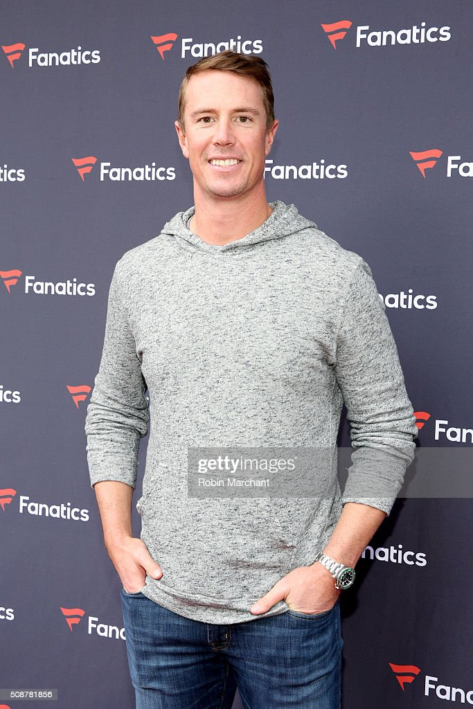 NFL player <a gi-track='captionPersonalityLinkClicked' href=/galleries/search?phrase=Matt+Ryan+-+Futebol+americano&family=editorial&specificpeople=4951318 ng-click='$event.stopPropagation()'>Matt Ryan</a> attends Fanatics Super Bowl Party on February 6, 2016 in San Francisco, California.